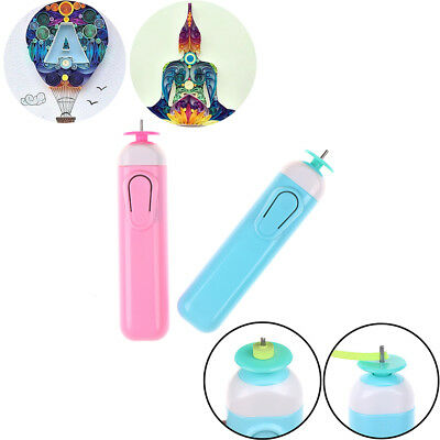 Diy Electric Quilling Roll Paper Pens Paper Craft Origami Paper Curling Tool OX