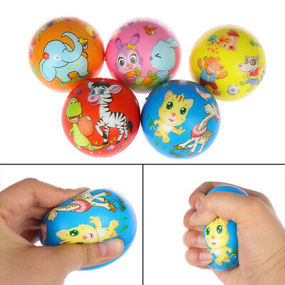 1Pc Stress relief vent ball animals squeeze foam ball hand relief kids toys.