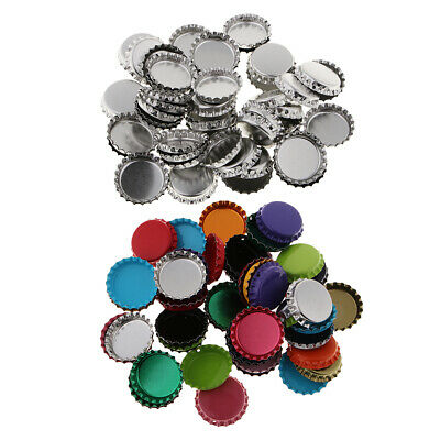 50pcs Flat Bottle Caps Scrapbook Embellishment for DIY Jewelry Making Craft