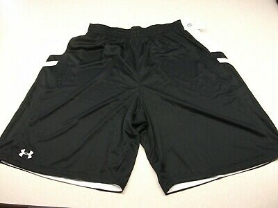 Under Armour mens Undeniable reversible  Basketball Shorts  Maroon White xl