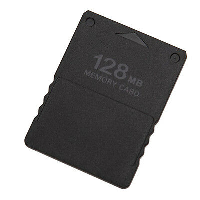 New 128Mb Memory Card For Sony Playstation 2 Ps2 Slim Console Data Stick OX