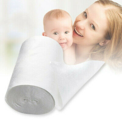 Baby Flushable Cloth Nappy Diaper Bamboo Liners 100 Sheets for 1 Roll