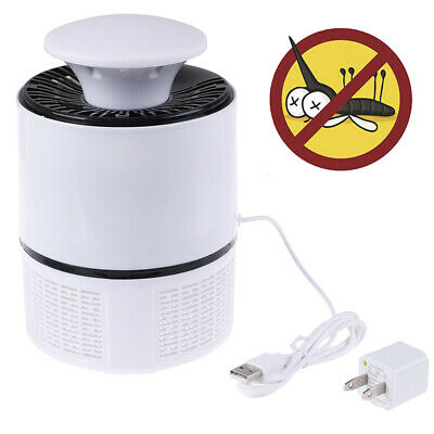 Electric Fly Bug Mosquito Insect Killer LED Light Trap Pest Control Lamp.