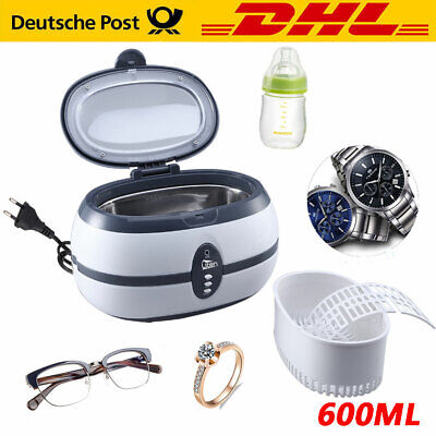 600ml Digital UltraschallReiniger Ultraschallreinigungsgerät Ultrasonic Cleaner