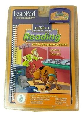 Leapfrog LeapPad Leap 1 Reading Scooby Doo and the Disappearing Donuts