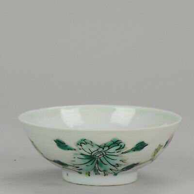 Antique 19th c Chinese Porcelain Bowl Qing ca 1900