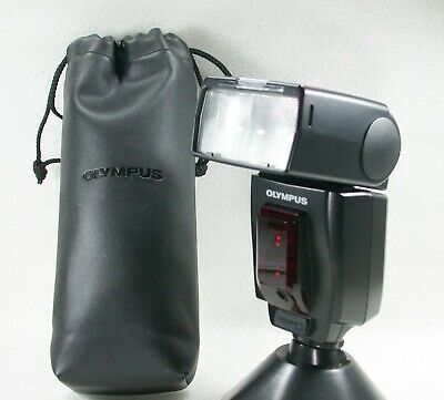Olympus FS-FL50 Shoe Mount Electronic Flash + Soft Case No. 2002264