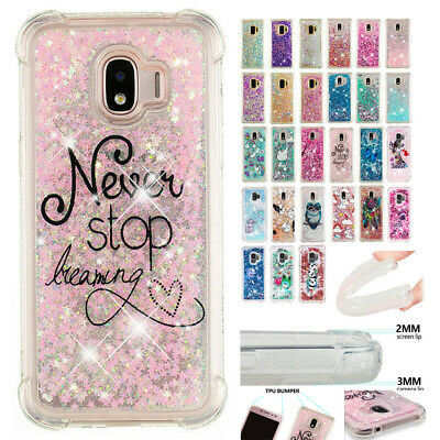 For Samsung Galaxy J2Pro 2018 Shockproof Glitter Quicksand Soft TPU Case Cover