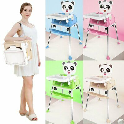 5-in-1 Baby Highchair Infant High Feeding Seat Toddler Table Chair Portable NEW