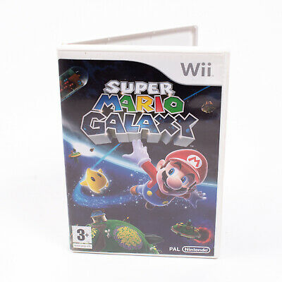 Super Mario Galaxy for Nintendo Wii - Game - Complete with Manual