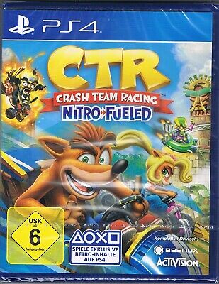 Playstation 4 PS4 Spiel CTR Crash Team Racing Nitro Fueled NEU