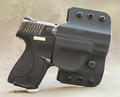 SMITH & WESSON M&P Shield OWB Kydex holster 9mm 40 cal
