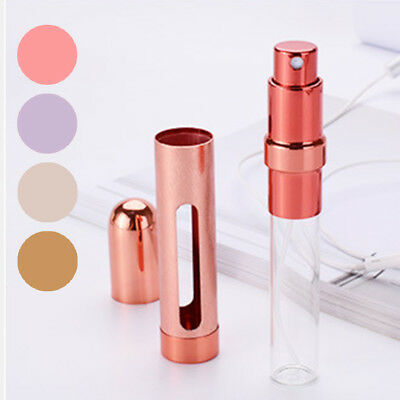 UK 12ml Perfume Atomizer Atomiser Spray Bottle Pump Travel Refillable Scent