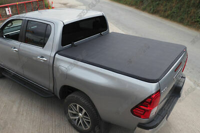 Toyota Hilux Invincible Soft Tonneau Bed Cover Eagle1 Premium Soft Roll & Lock