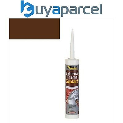Everbuild External Frame Sealant Brown C3 Size Cartridge