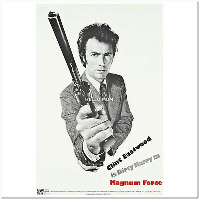 """Dirty Harry Magnum Force Vintage Reproduction Movie Poster Like A1 / 36"""" #2137"""