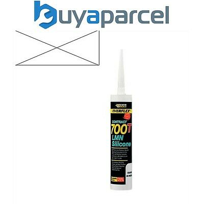 Everbuild Everflex Silicone 700T Clear 310ml Size Cartridge