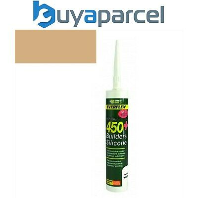 Everbuild Everflex 450 Builders Silicone Oak C3 Size Cartridge
