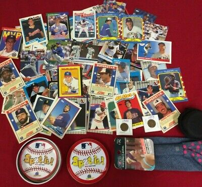 Junk Drawer lot of Baseball Cards & Misc #15