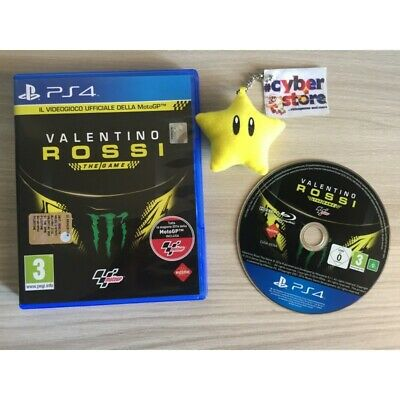 VALENTINO ROSSI THE GAME per Sony Playstation 4 PS4 Usato Garantito italiano
