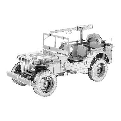 MECHANICAL PUZZLE WOODEN City JEEP WILLY's 4x4 3D Wooden