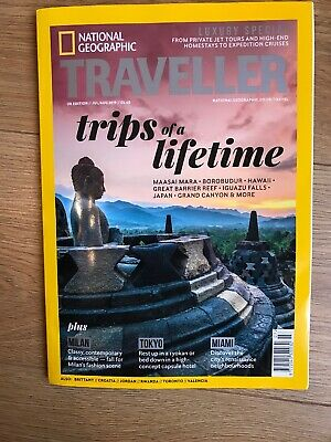 National Geographic Traveller July/August 2019 Issue - Milan Tokyo Miami