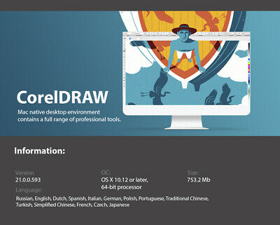 CORELDRAW 2019 FOR MAC Graphics Suite Corel Draw 2019 Education