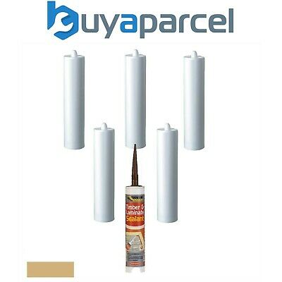 Everbuild Timber and Laminate Sealant Oak C3 Size Pack of 6