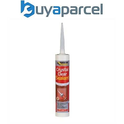 Everbuild Crystal Clear Sealant C3 Size Cartridge