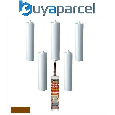 Everbuild Timber and Laminate Sealant Mahogany C3 Size Pack of 6