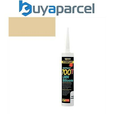 Everbuild Everflex Silicone 700T Caramel 310ml Size Cartridge