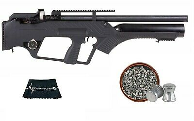 HATSAN BULLMASTER SEMI-AUTO Pcp Air Rifle  25 Caliber Semi-Automatic