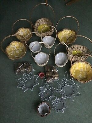 baskets for display or to decorate for a wedding or use for dusplaying flowers