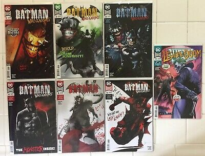 Batman Who Laughs #1 2 3 4 5 6 & Justice League Vol 3 #13! All NM 1st Prints! DC