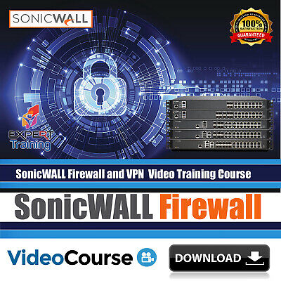 SonicWALL Firewall Network security Video Training Course DOWNLOAD