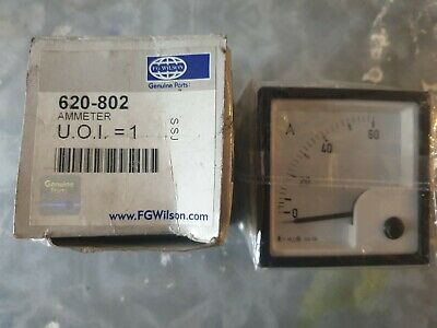 FG Wilson Analogue AMMETER 620-802 60A.