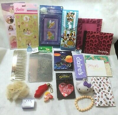 Junk Drawer Lot Girly Feminine Mostly New Items Stationary Jewelry Key Chains