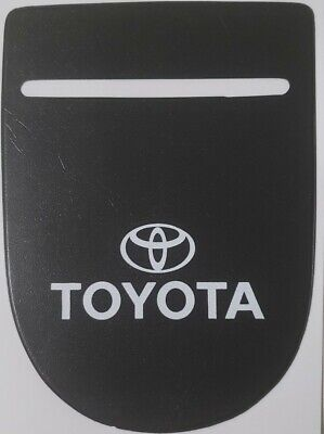 Car Van Road Tax,  Insurance, NCT Disc Holder Black New Wallet Permit For TOYOTA