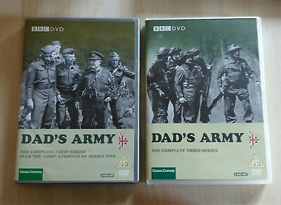 Dads Army The Complete 1st And 3rd Series Dvd (Summer )
