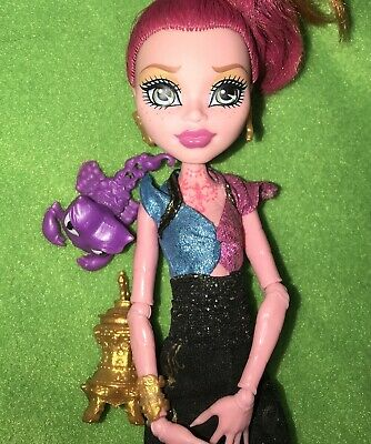 Monster High Doll yellow and red hair Genie Gigi Grant Exc Plus Pets Diary
