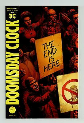 Doomsday Clock (DC) 1A 2018 Frank End Is Here Variant VF+ 8.5