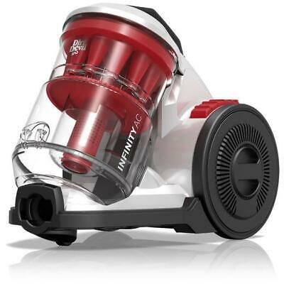 DIRT DEVIL Aspirateur sans sac multi-cyclonique DD5110-0 - Infinity AC - Rouge S