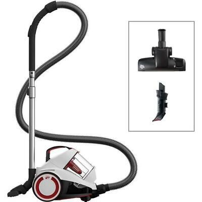 DIRT DEVIL Aspirateur sans sac DD2424-0 Rebel 34 - 4A - Blanc