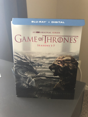 Game of Thrones: The Complete Seasons 1-7 (Blu-ray Disc) NO DOWNLOAD CODES