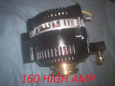 FORD BRONCO MUSTANG ONE WIRE 3G Small Body ALTERNATOR 160 HIGH AMP 1965 1978