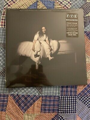 Billie Eilish When We All Fall Asleep FYE Excl Vinyl Opaque Baby Blue LE1500