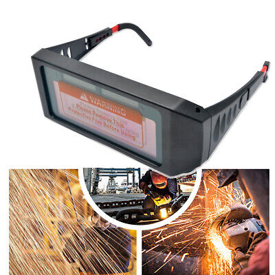 Auto Solar Darkening LCD Welding Glasses Mask Goggles Helmet 2Way Protection