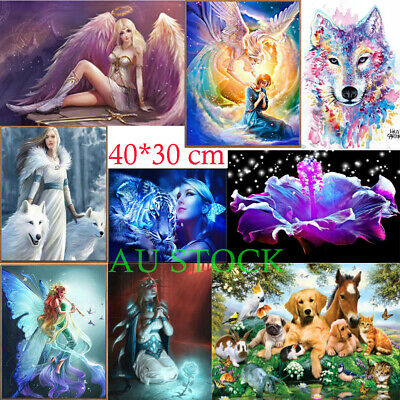AU Full Drill 5D DIY Diamond Painting Embroidery Cross Crafts Stitch Home Decor