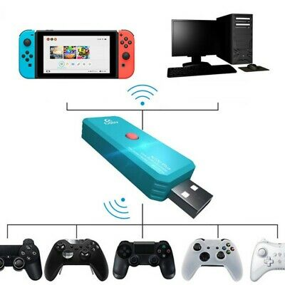 Bluetooth USB Adapter For Nintendo Switch PS-4 PC Wireless Controller Converter
