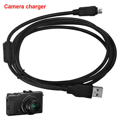 USB DC Battery Charger Data SYNC Cable Cord For Olympus camera Tough TG-4 X-960